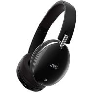 Visit the JVC Store JVC Wireless Noise Canceling Over Ear Headphones, Bluetooth, Instant paring with NFC Technology - HAS90BNB, Black, One Size